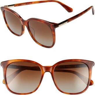 Kate Spade Caylin 54mm Polarized Sunglasses