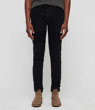 AllSaints Biker Skinny Jeans