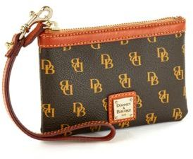 Dooney & Bourke Signature Medium Wristlet $48 thestylecure.com