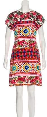 Dolce & Gabbana 2017 Silk Mambo Dress