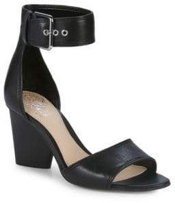 Vince Camuto Driton Leather Ankle-Strap Sandals