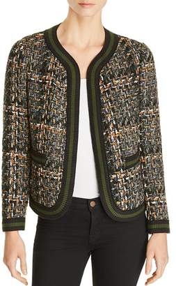 Le Gali Evelin Lightweight Mixed-Knit Jacket - 100% Exclusive