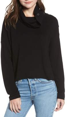Splendid Runyon Button Neck Sweater