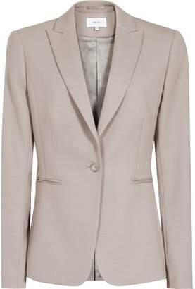 Reiss Truman Jacket - Single-breasted Blazer in Grey