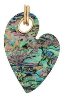 Robert Lee Morris Collection Abalone Heart Carded Charm