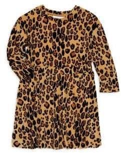 Mini Rodini Baby Girl's, Little Girl's& Girl's Leopard Velour Dress