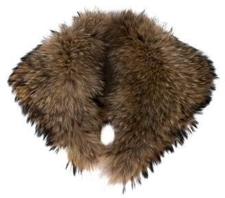 Dyed Fur Collar