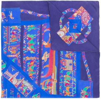 Hermes Pre-Owned graphic print scarf