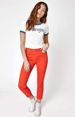 Wrangler Colored Straight Cropped Jeans