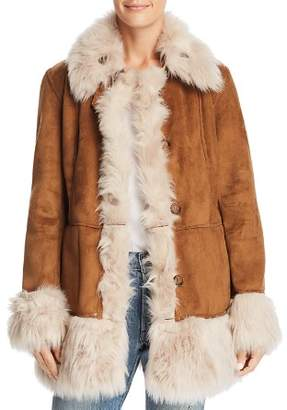 Urban Code Urbancode Reversible Faux-Shearling Coat