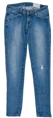 Siwy Low-Rise Straight-Leg Jeans