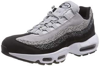 low priced 2b90d 56d43 Nike Women s WMNS Air Max 95 PRM Gymnastics Shoes, Black White Wolf Grey 016