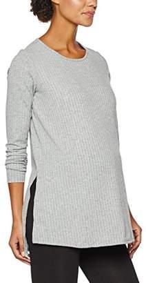 Dorothy Perkins Maternity Women's Oversize Ribbed Tunic T-Shirt