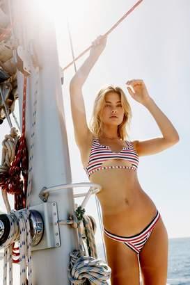 Frankie's Bikinis Frankies Bikinis Cole Striped Top