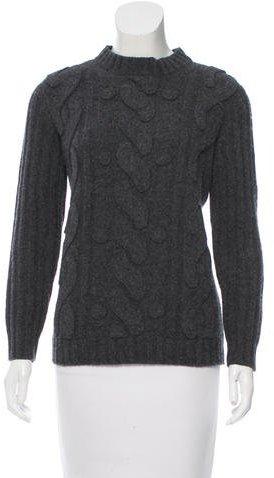 MoschinoMoschino Crew Neck Wool Sweater
