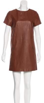 Jenni Kayne Leather Mini Dress