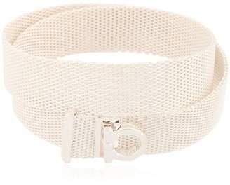 Salvatore Ferragamo Jewels Double Mesh Chain Bracelet