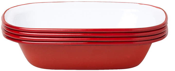 Falcon Pie Dishes - Pillarbox Red