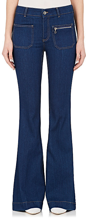 Stella McCartney Stella McCartney STELLA MCCARTNEY WOMEN'S FLARED JEANS