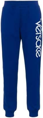 Versace Logo Print Sweatpants