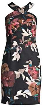 Trina Turk Ace Floral-Print Sheath Dress