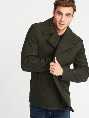 Old Navy Soft-Brushed Peacoat for Men