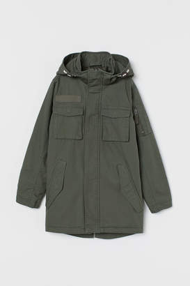 H&M Padded Cotton Parka