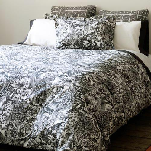DwellStudio - etching bedding collection by DwellStudio