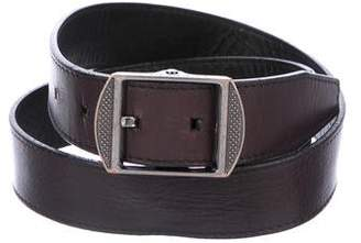 Burberry Leather Buckle Belt