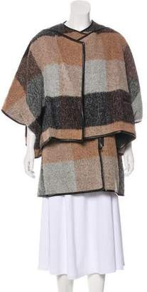 3.1 Phillip Lim Mohair Blend Coat and Poncho