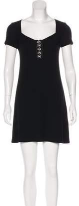 Reformation Cap Sleeve Mini Dress
