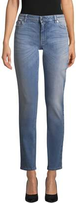 Givenchy Women's Print Ankle Jeans