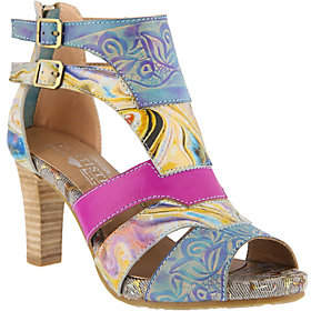 Spring Step L'Artiste by Leather Sandals - Broo