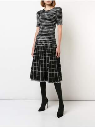 Jason Wu Check Plaid Dress
