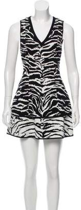 Fausto Puglisi Sleeveless Mini Dress