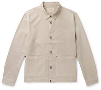 Folk Ripstop-Panelled Cotton-Twill Jacket
