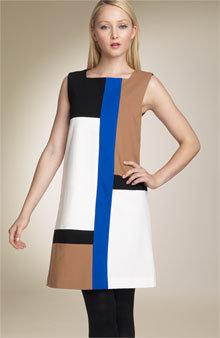 Diane von Furstenberg 'Mondrian' Shift Dress