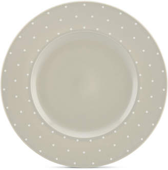Kate Spade Larabee Dot Grey Collection Stoneware Dinner Plate