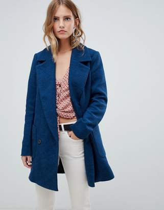 Only oversized blazer coat