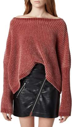 Blank NYC BLANKNYC Chenille Off the Shoulder Sweater