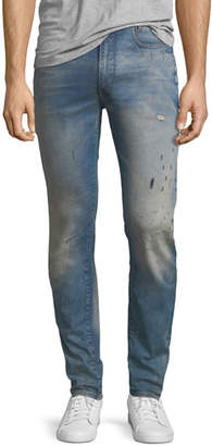 G Star G-Star D-Staq 3D Super Slim Jeans in Light Aged Restored