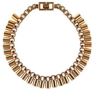 Mawi Crystal Sunray Collar Necklace