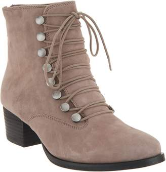 Earth Suede Lace-Up Boots - Doral