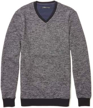 Vince Camuto Marled V-neck Sweater