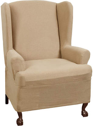 Maytex Mills Maytex Smart Cover Reeves Stretch Wing Chair Slipcover