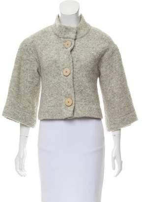 Chloé Knit Crop Cardigan