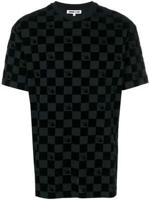 McQ Swallow checkered T-shirt