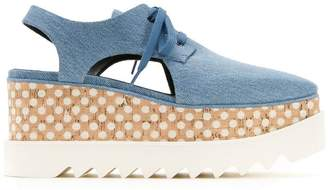 Stella McCartney Elyse cut-out shoes