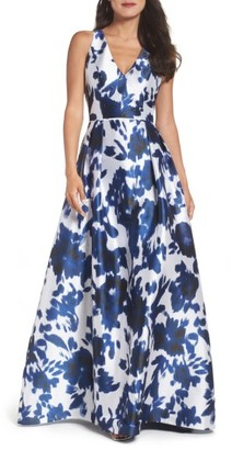 Women's Adrianna Papell Faille Ballgown $229 thestylecure.com