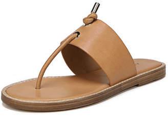 Vince Caelan Leather Flat Sandal